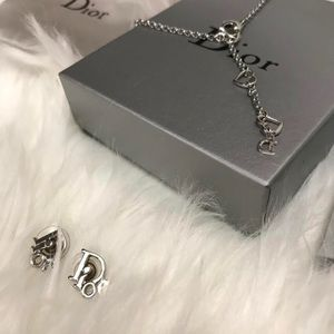 Dior Necklace and Earring